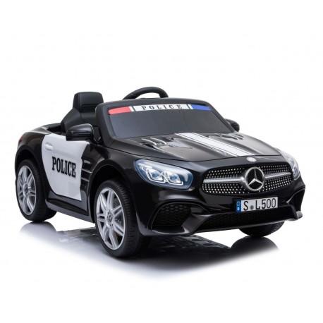 MERCEDES POLICJA SL500, MIĘKKIE SIEDZENIE , MIEKKIE KOŁA, SYSTEM ESW, RADIO FM /S301