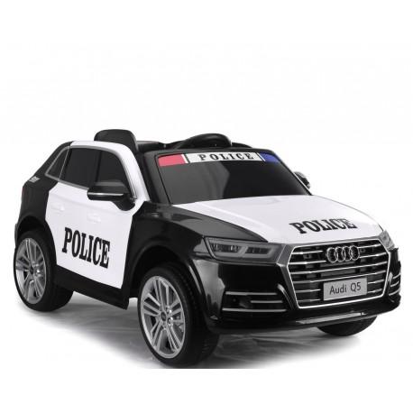 AUDI Q5 POLICJA , MIĘKKIE KOŁA, MIĘKKIE SIEDZENIE, RADIO FM, BLUETOOTH - PEŁNA OPCJA/S305
