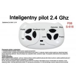 Pilot zdalnego sterowania w technologii 2.4 Ghz do pojazdów/