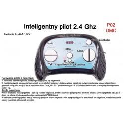 Pilot zdalnego sterowania w technologii 2.4 Ghz do pojazdów DMD-168