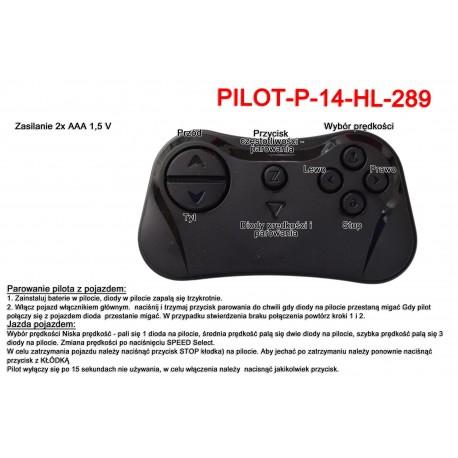 Pilot zdalnego sterowania w technologii 2.4 Ghz do pojazdów HL i innych