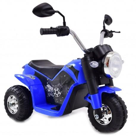 MOTOR CHOPPER - PIERWSZY MOTOREK DLA DZIECKA, MIĘKKIE SIEDZENIE/JC916